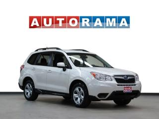 Used 2015 Subaru Forester 4WD BACKUP CAMERA HEATED SEATS for sale in North York, ON