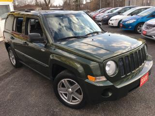 Used 2008 Jeep Patriot SPORT / Auto / Heated Seats / Alloys / 4WD / MINT! for sale in Scarborough, ON
