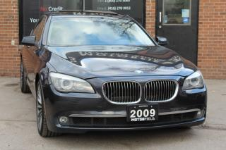 Used 2009 BMW 750i 750i *NO ACCIDENTS, NAVI, HUD, REAR CAM, 120KM* for sale in Scarborough, ON