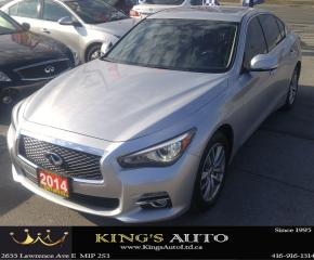 Used 2014 Infiniti Q50 PREMIUM, LOADED!!! HEATED SEATS for sale in Scarborough, ON