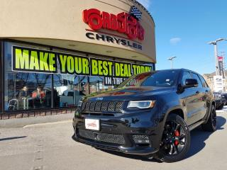 Used 2017 Jeep Grand Cherokee SRT REAR DVD PANO ROOF TRAILER TOW LOADED for sale in Scarborough, ON