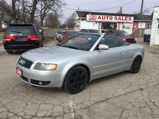 Used 2003 Audi A4 Automatic/2 YR Warranty/Leather/Certified for sale in Scarborough, ON