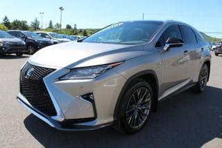 Used 2017 Lexus RX 350 F-Sport Iii Toit for sale in St-Basile-le-Grand, QC