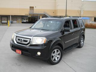 Used 2009 Honda Pilot Touring, 4WD, 8 Pass, Navi, 3/Y warranty availa for sale in North York, ON