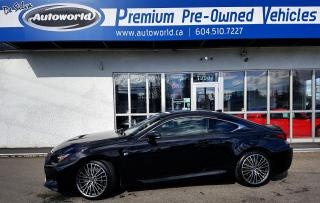 Used 2015 Lexus RC F Coupe for sale in Langley, BC