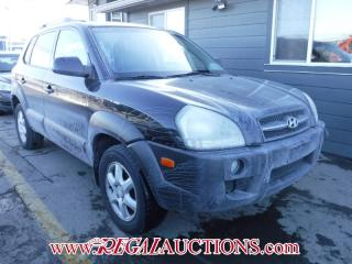 Used 2005 Hyundai TUCSON  4D UTILITY 4WD for sale in Calgary, AB