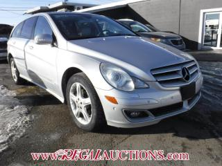 Used 2006 Mercedes-Benz R-CLASS R350 4D UTILITY AWD for sale in Calgary, AB
