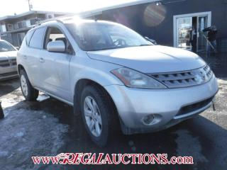 Used 2007 Nissan MURANO SL 4D UTILITY AWD for sale in Calgary, AB