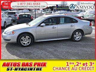 Used 2013 Chevrolet Impala LT for sale in St-Hyacinthe, QC