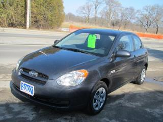 Used 2007 Hyundai Accent SE 3-Door for sale in Brockville, ON