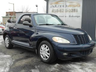 Used 2005 Chrysler PT Cruiser ***CONVERTIBLE À BAS PRIX*** for sale in Longueuil, QC