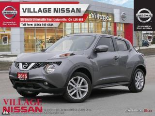Used 2015 Nissan Juke SL for sale in Unionville, ON