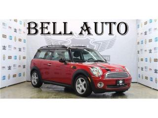 Used 2009 MINI Cooper Clubman LEATHER PANORAMIC ROOF BLUETOOTH for sale in North York, ON