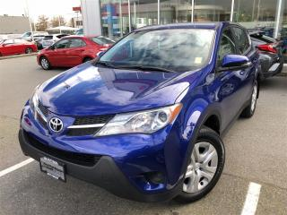 Used 2015 Toyota RAV4 LE,One owner,Low KM for sale in Surrey, BC