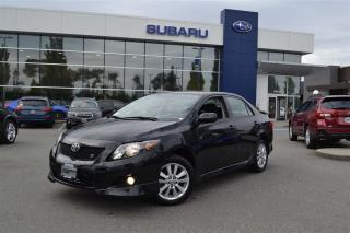 Used 2009 Toyota Corolla S - 96,000 Kms for sale in Port Coquitlam, BC