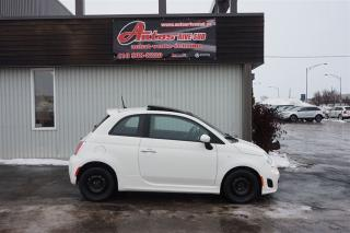 Used 2013 Fiat 500 Sport for sale in Lévis, QC