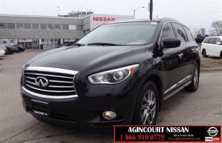 Used 2013 Infiniti JX35 CVT  Navigation 360 Camera Bluetooth  Sunroof for sale in Scarborough, ON