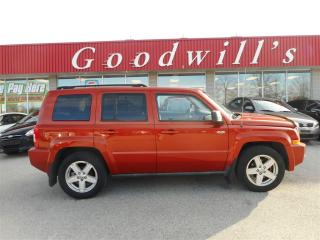 Used 2010 Jeep Patriot SPORT! CLEAN CARPROOF! SUNROOF! BLUETOOTH! for sale in Aylmer, ON