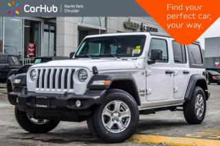 New 2018 Jeep Wrangler Unlimited New Car Sport|Convi.,Cld Wthr.,Safety,Technology Pkgs for sale in Thornhill, ON