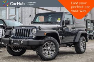 New 2018 Jeep Wrangler JK New Car Sport|Tire Wheel,LED Lighting,Connect.,Pwr Convi Pkgs for sale in Thornhill, ON