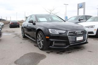 Used 2017 Audi A4 2.0T Progressiv + Sport Package for sale in Whitby, ON