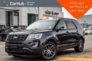 Used 2017 Ford Explorer Sport AWD|Pano_Sunroof|Nav|Heat Frnt.Seats|BlindSpot|20