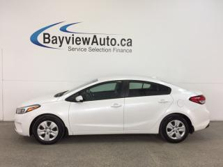 Used 2017 Kia Forte - AUTO|A/C|BLUETOOTH|PWR GROUP! for sale in Belleville, ON