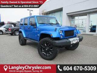 Used 2015 Jeep Wrangler Unlimited Sahara <B>*6.5 TOUCHSCREEN*NAVIGATION*REMOTE START*<b> for sale in Surrey, BC