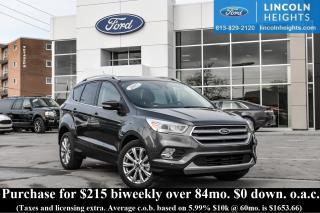 Used 2017 Ford Escape Titanium 4WD for sale in Ottawa, ON