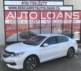 Used 2017 Honda Accord LX-ALL CREDIT ACCEPTED for sale in Scarborough, ON