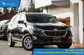 New 2018 Chevrolet Equinox 1LT Backup Camera, AUX/USB, Sunroof for sale in Port Coquitlam, BC