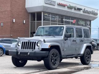 Used 2018 Jeep Wrangler Unlimited Sahara Altitude LEATHER/NAVI/DUAL TOP for sale in Concord, ON
