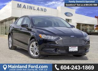 New 2018 Ford Fusion SE for sale in Surrey, BC