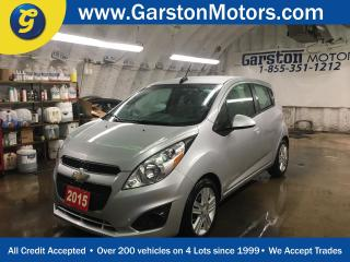 Used 2015 Chevrolet Spark LT*MY LINK PHONE CONNECT*CRUISE CONTROL*CLIMATE CONTROL*TRACTION CONTROL*AM/FM/XM/AUX/USB/BLUETOOTH*ALLOYS*KEYLESS ENTRY* for sale in Cambridge, ON