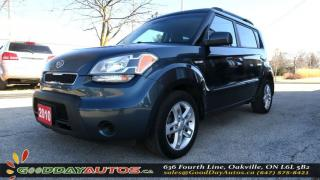 Used 2010 Kia Soul 2U|NO ACCIDENT|ALLOYS|BLUETOOTH|CERTIFIED for sale in Oakville, ON