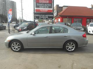 Used 2005 Infiniti G35X SUPER  CLEAN for sale in Scarborough, ON
