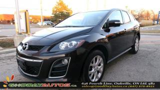 Used 2011 Mazda CX-7 GT|BACKUP CAM|SUNROOF|BLUETOOTH|LEATHER|CERTIFIED for sale in Oakville, ON