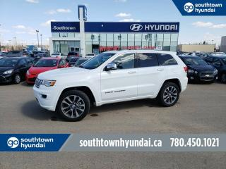 Used 2017 Jeep Grand Cherokee OVERLAND/HEMI/NAV/LEATHER/PANO ROOF for sale in Edmonton, AB