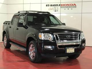 Used 2010 Ford Explorer Sport Trac 4WD V8 Limited + JAMAIS ACCIDENTÉ + TOUT for sale in St-Basile-le-Grand, QC