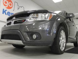 Used 2016 Dodge Journey RT AWD with heated power leather seats, heated steering wheel, and rear climate control for sale in Edmonton, AB