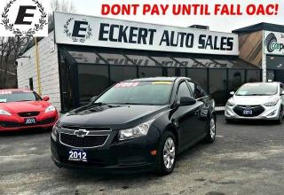 Used 2012 Chevrolet Cruze LS 1.8L MANUAL for sale in Barrie, ON