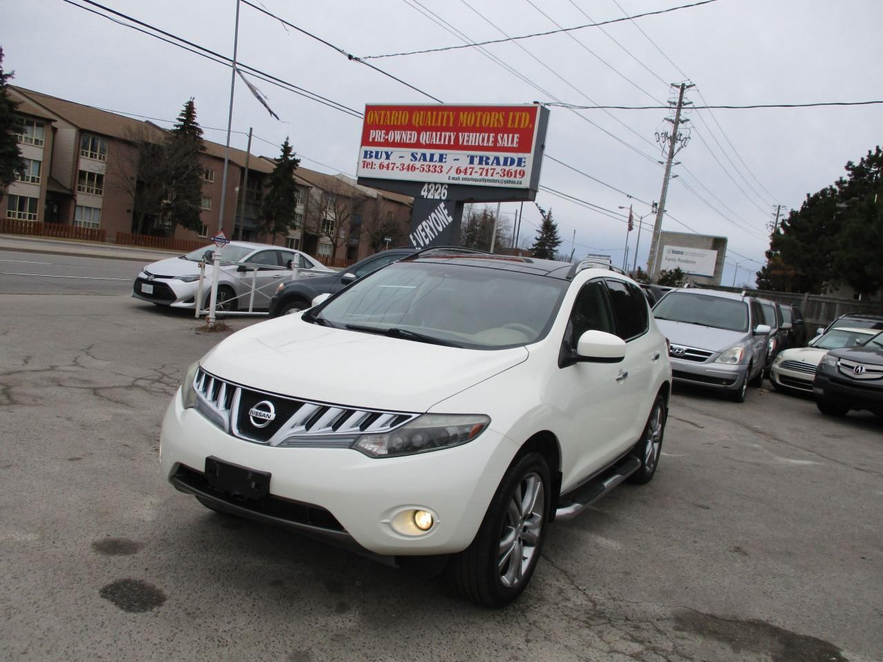 used 2009 nissan murano le panoramic roof leather sunroof for sale in scarborough ontario. Black Bedroom Furniture Sets. Home Design Ideas