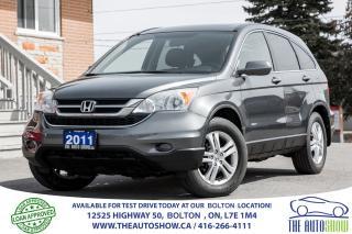 Used 2011 Honda CR-V EX-L AWD Navi BACK UP CAM for sale in Caledon, ON