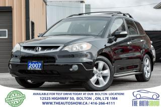 Used 2007 Acura RDX Technology Pkg AWD NAVIGATION BACK UP CAM for sale in Caledon, ON