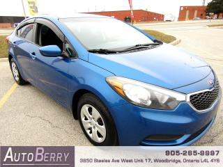 Used 2014 Kia Forte LX - 1.6L for sale in Woodbridge, ON