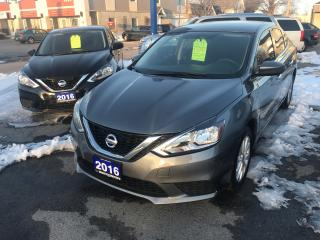 Used 2016 Nissan Sentra SV+Auto+Back-up cam+keyless+Push button start for sale in Niagara Falls, ON