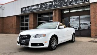 Used 2009 Audi A4 S-LINE Cabriolet Convertible AWD QUATTRO LEATHER for sale in Mississauga, ON
