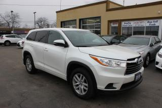 Used 2016 Toyota Highlander LE AWD 8 Passenger for sale in Brampton, ON