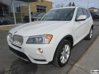 Used 2011 BMW X3 28i Xdrive 8 for sale in Varennes, QC