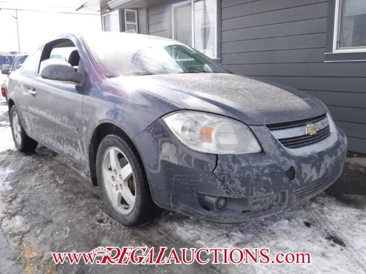 Photo of Grey 2009 Chevrolet COBALT LT 2D COUPE